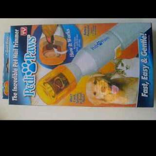 Pedi Paws Nail Trimmer For Dogs And Cats