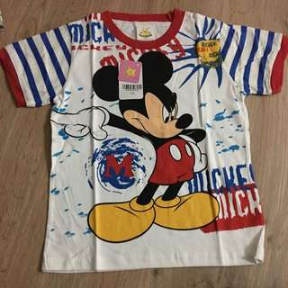 [Size 120] Brand New Mickey Mouse Tshirt