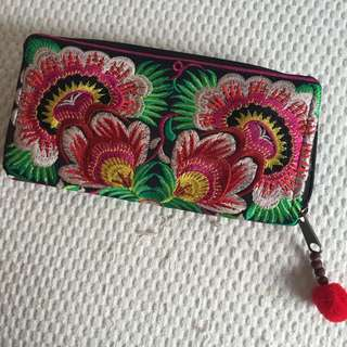 BOHEMIAN embriodered purse