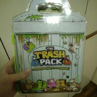 The Trash Pack With A Few Trashies Inside