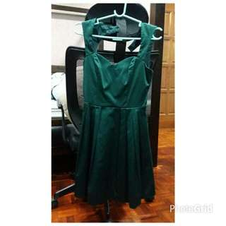 Asos Little Green Dress - Perfect For Party Or Dinner