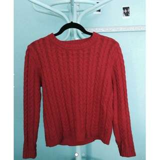 SOLD - Red Jumper