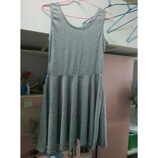 [全新]灰色背心裙