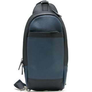 Coach Leather Sling Backpack
