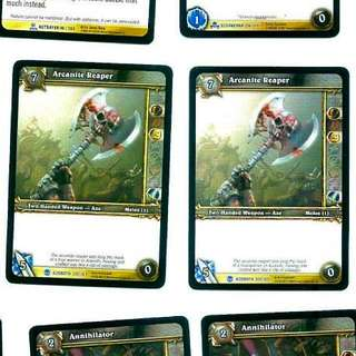 World of Warcraft TCG Singles - Arcanite Reaper