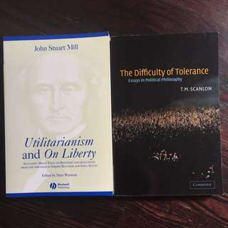 Two Philosophy Textbooks