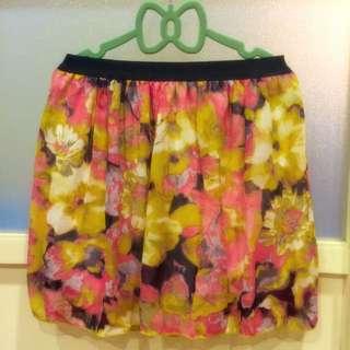 《$100含運系列》Flora 雪紡短裙 🌼💐🌹