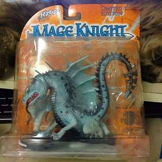 Mage Knight Conquest Limited Edition Radiant Silver Dragon