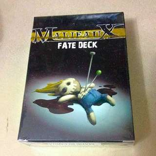 Malifaux Fate Deck Gold (Outcasts)
