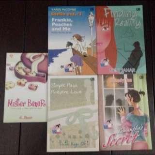 Novel Indonesia Teenlit Penerbit PT Gramedia