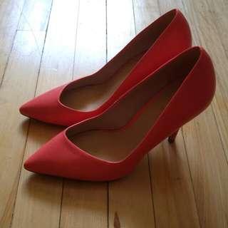 Pink Aldo Heels