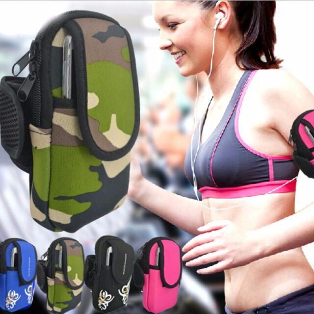 6吋內手機都可用 運動用品跑步手臂包 健身裝備 戶外運動包包 手機袋 零錢包 手提包