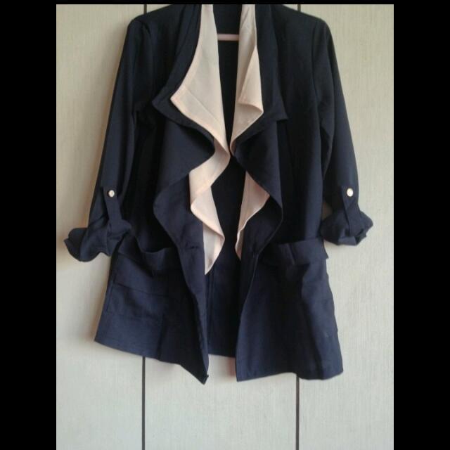 西裝領外套