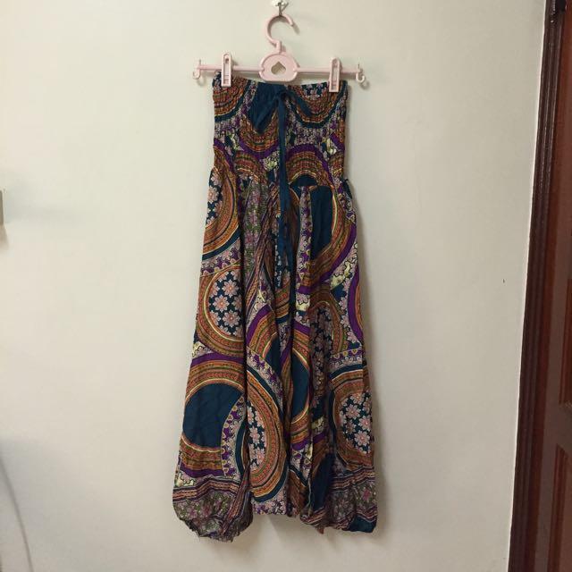 泰國縲縈棉飛鼠褲