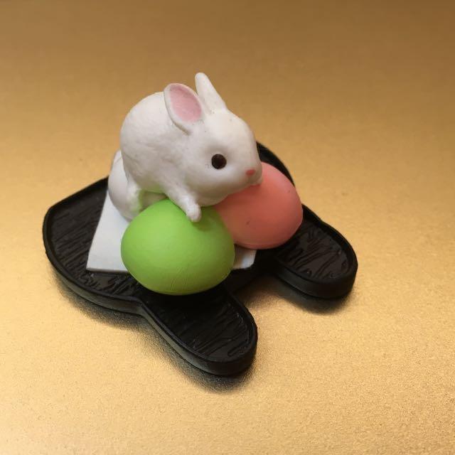 兔子甜點扭蛋