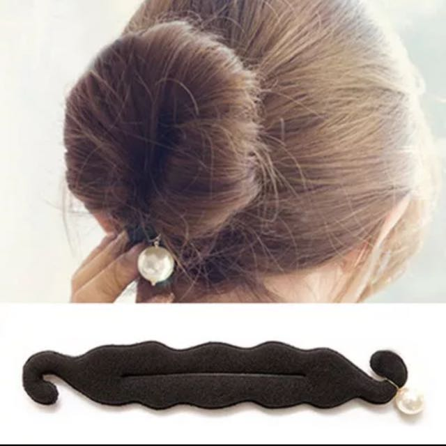 珍珠海棉盤髮器