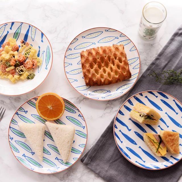 精美陶瓷文藝 早餐餐盤
