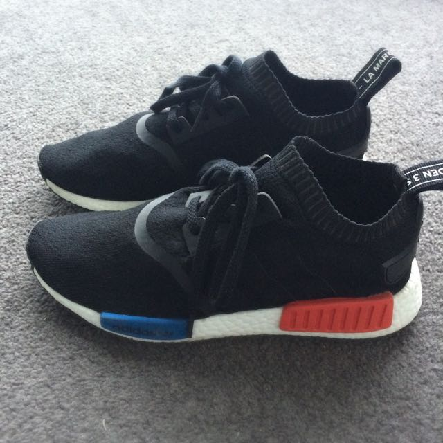 Adidas NMD Runner PK Black OG US 8 UK 7.5