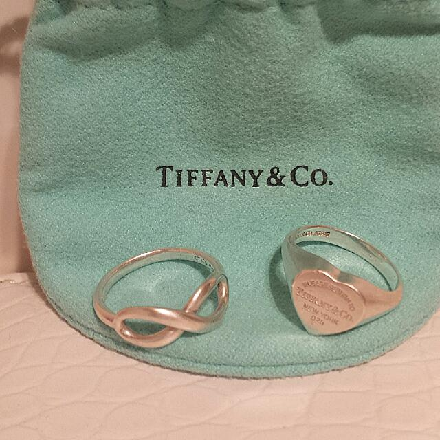 Authentic Tiffany & Co Rings
