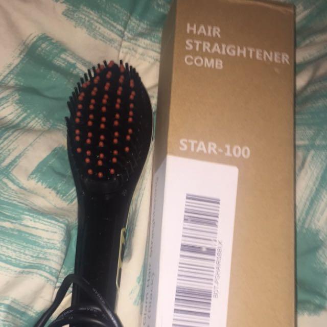 Beauty Star Straighting Brush