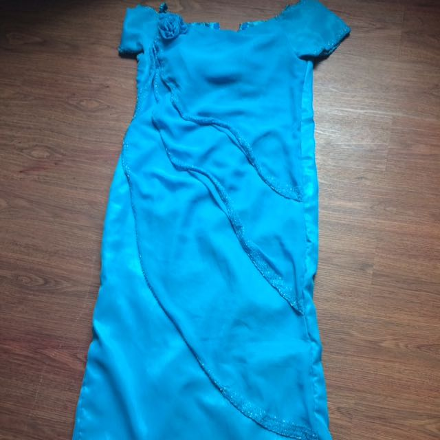 Blue Gown - Entourage