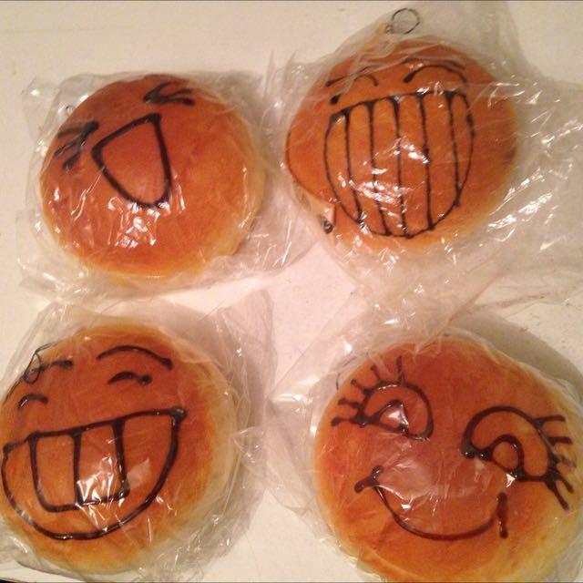 Bread Bun Squishy