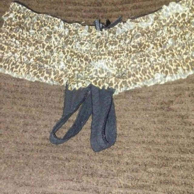 Crotchless Panties Size M