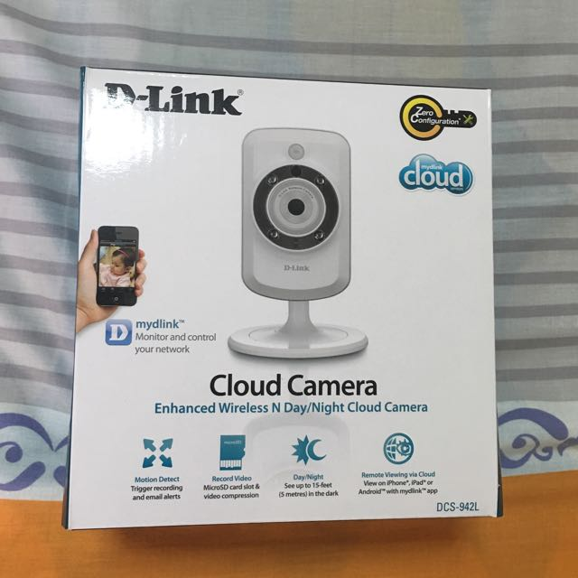 D-Link Wireless cloud camera DCS-942L