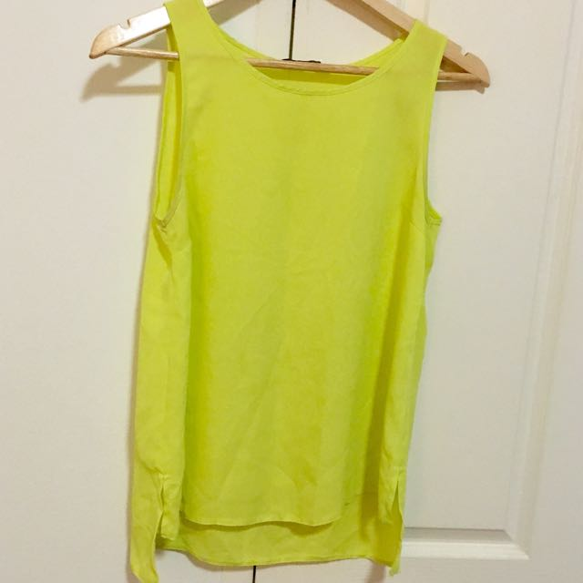 Dorothy Perkins Lemon Blouse