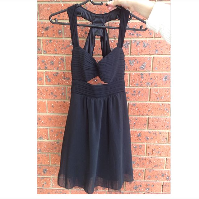 Dotti Black Cutout Dress