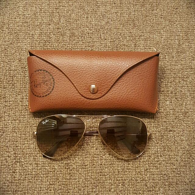 Genuine Ray-Ban Large Aviators