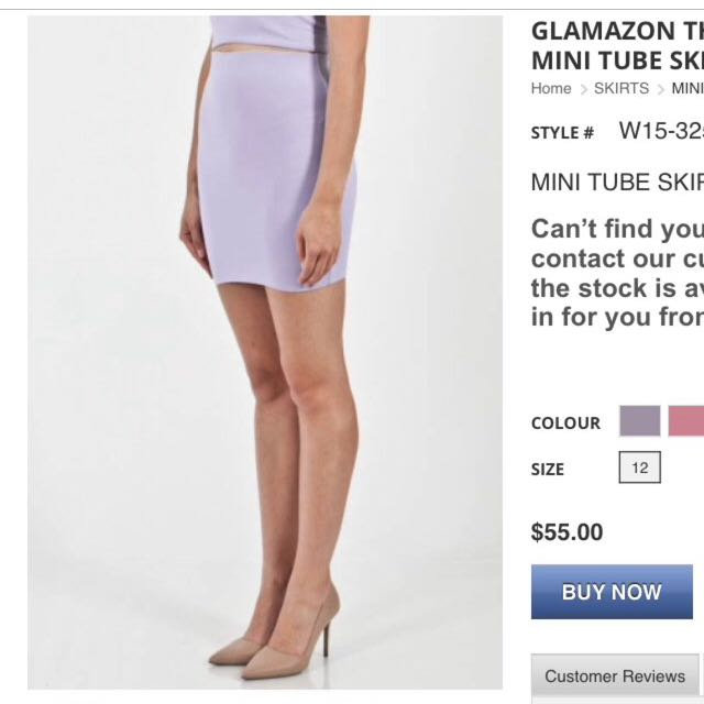 Glamazon Bodycon Skirt
