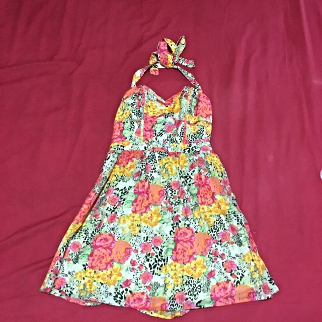 GUESS Bow Tie Dress