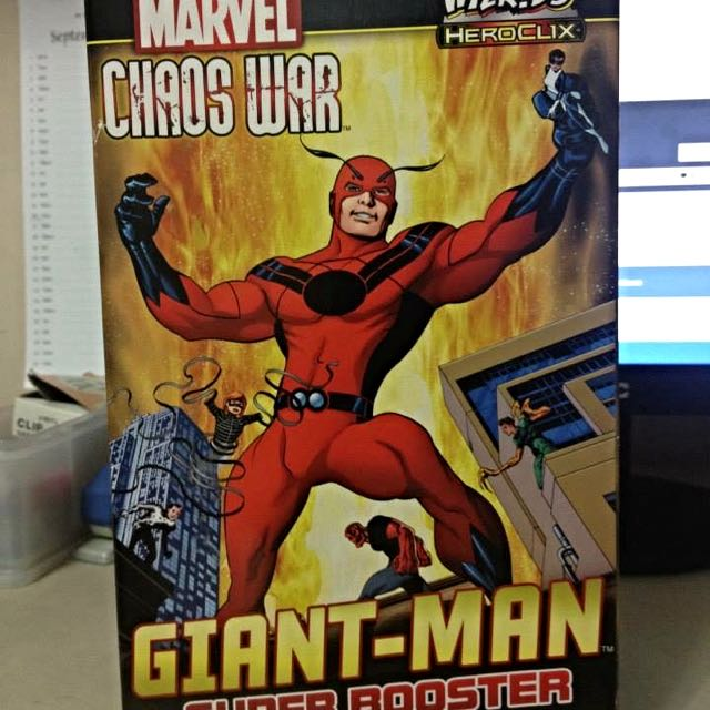 Heroclix Marvel Chaos War Giant-man Super Booster