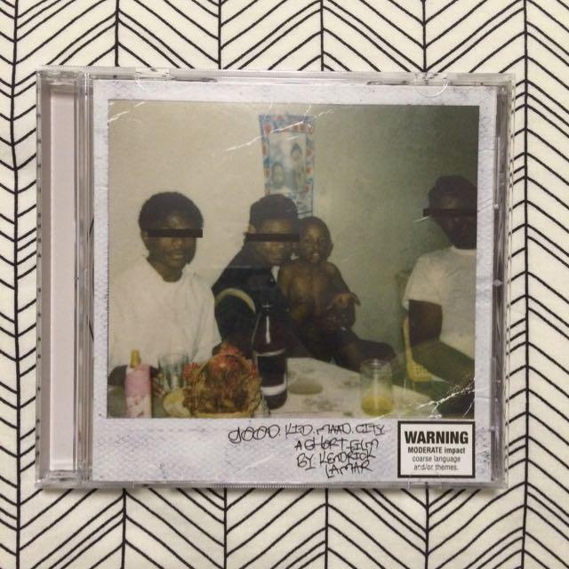 Kendrick Lamar - good kid bad city