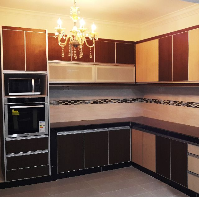 KITCHEN CABINET / KABINET DAPUR, Home & Furniture On Carousell