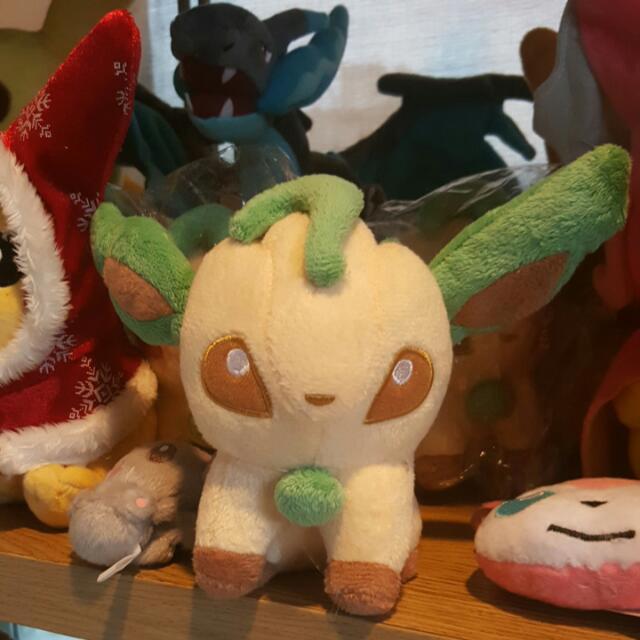 Leafeon Pokemon Plush