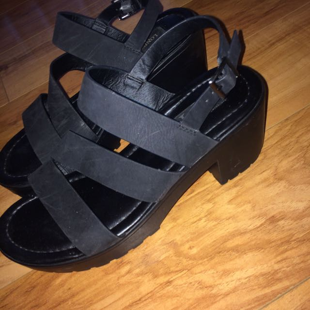 London Rebel Heeled Sandals