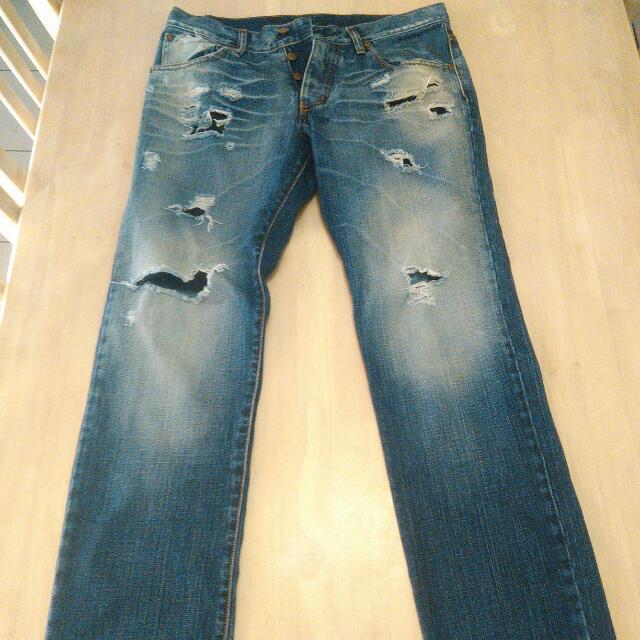 Men Nobody Jeans Waist 31