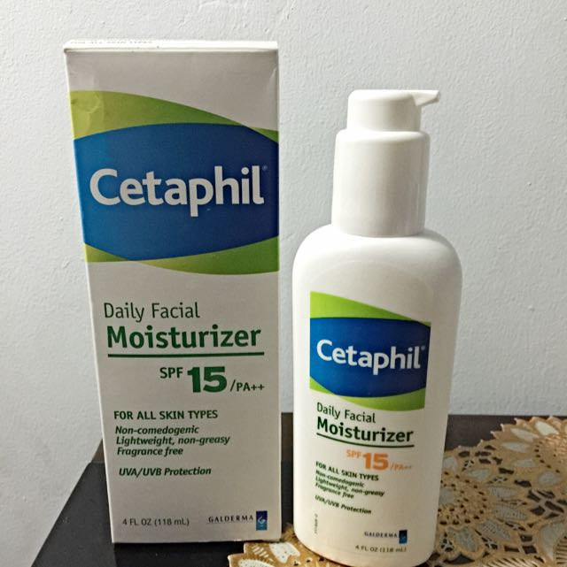 New Cetaphil Daily Facial Moisturizer