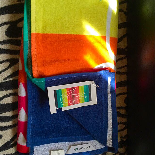 Oroginal Lacoste Beach Towel