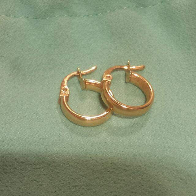 PENDING Real 18k Solid Gold Earrings