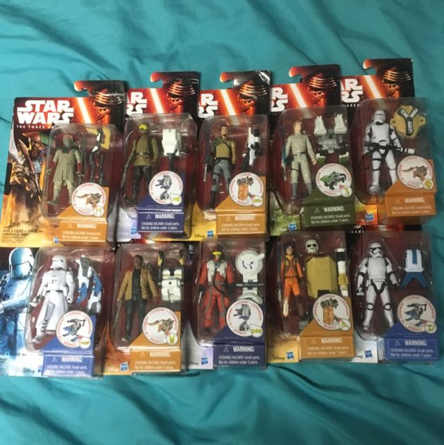 Star Wars The Force Awakens Figures