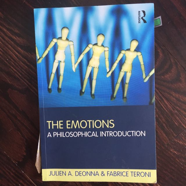 The Emotions - A Philosophical Introduction