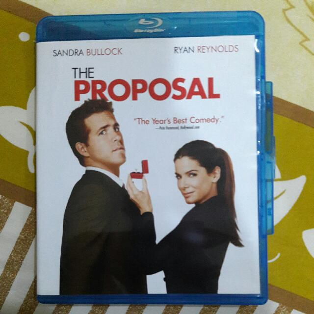 The Proposal Bluray