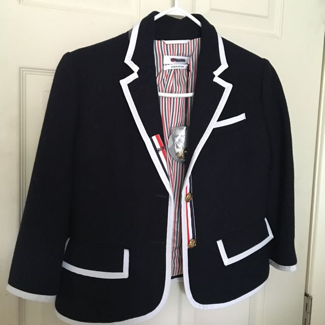 Thom Browne Pure Wool Blazer