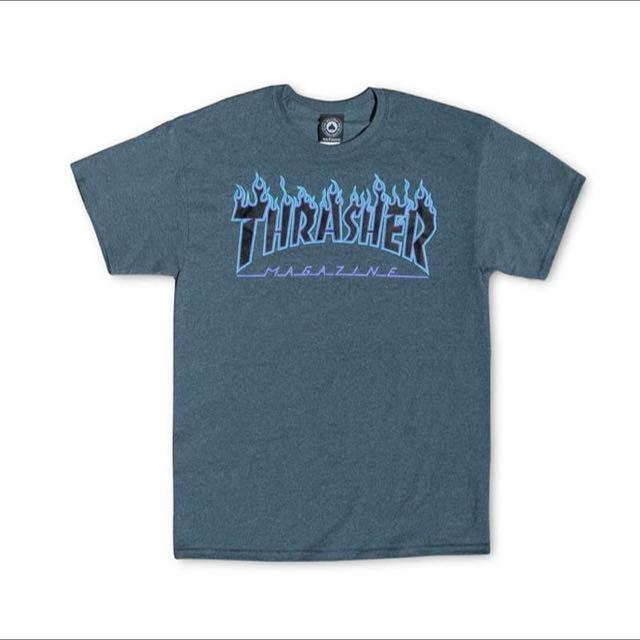Thrasher 火焰短T 火焰 Flam 短袖 GD
