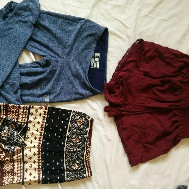 Tights Xs And Shorts Medium