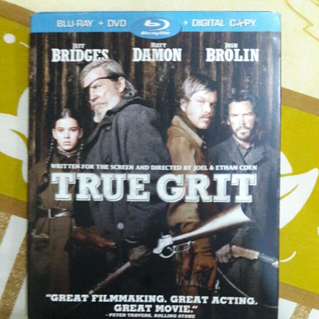True Grit Bluray