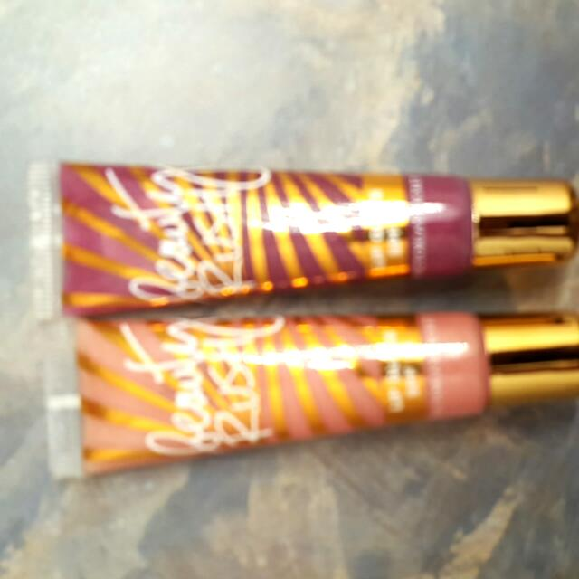 Two Victoria Secret Beauty Rush Lip Glosses
